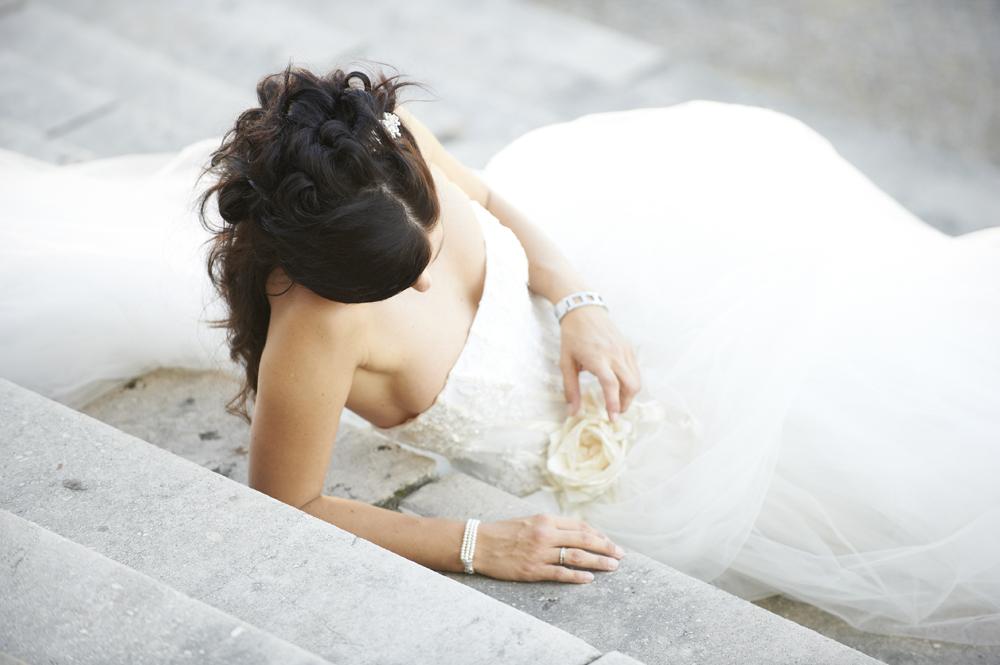 Hochzeitsfrisuren halboffen