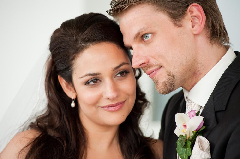 Hochzeitsfrisuren mittellang